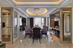 新古典 欧式 三居 白富美 公主房 白领 餐厅图片来自幸福空间在298 m²精工时尚新古典的分享