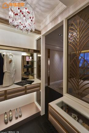ARTDECO 古典 欧式 白领 装饰风艺术 白富美 三居 衣帽间图片来自幸福空间在115m²ART DECO极致奢华的分享