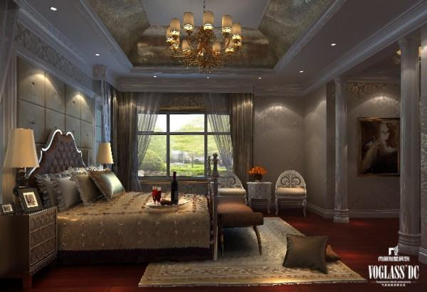 尚层别墅装饰 艾力枫社  经典的北欧风情, 另外一间卧室则是充满浓郁浪漫气息的芬兰气息,迷离、沉醉。