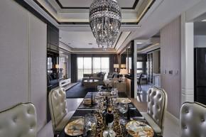 欧式 古典 高帅富 白富美 公主房 白领 混搭 餐厅图片来自幸福空间在234m²非纯粹的古典重新演绎的分享