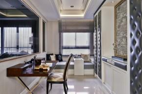 欧式 古典 高帅富 白富美 公主房 白领 混搭 书房图片来自幸福空间在234m²非纯粹的古典重新演绎的分享