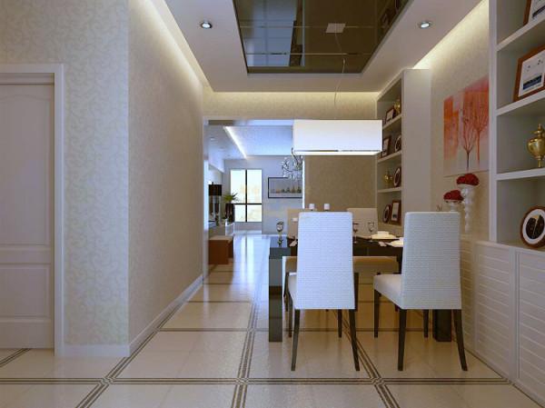 大量使用钢化玻璃、不锈钢等新型材料作为辅材,也是现代风格家居的常见装饰手法,能给人带来前卫、不受拘束的感觉。