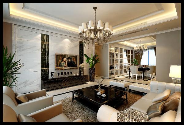 欧式的尊贵和现代的简约融于一室,没有过分的装饰,讲究装饰的适度、强调功能性设计,现代简约的设计手法体现出现代的简约和实用,这或许是对简欧风格最好的写照