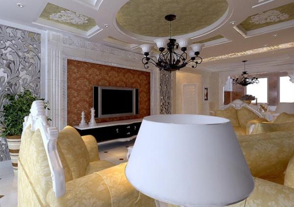 欧美风格-电视背景墙设计