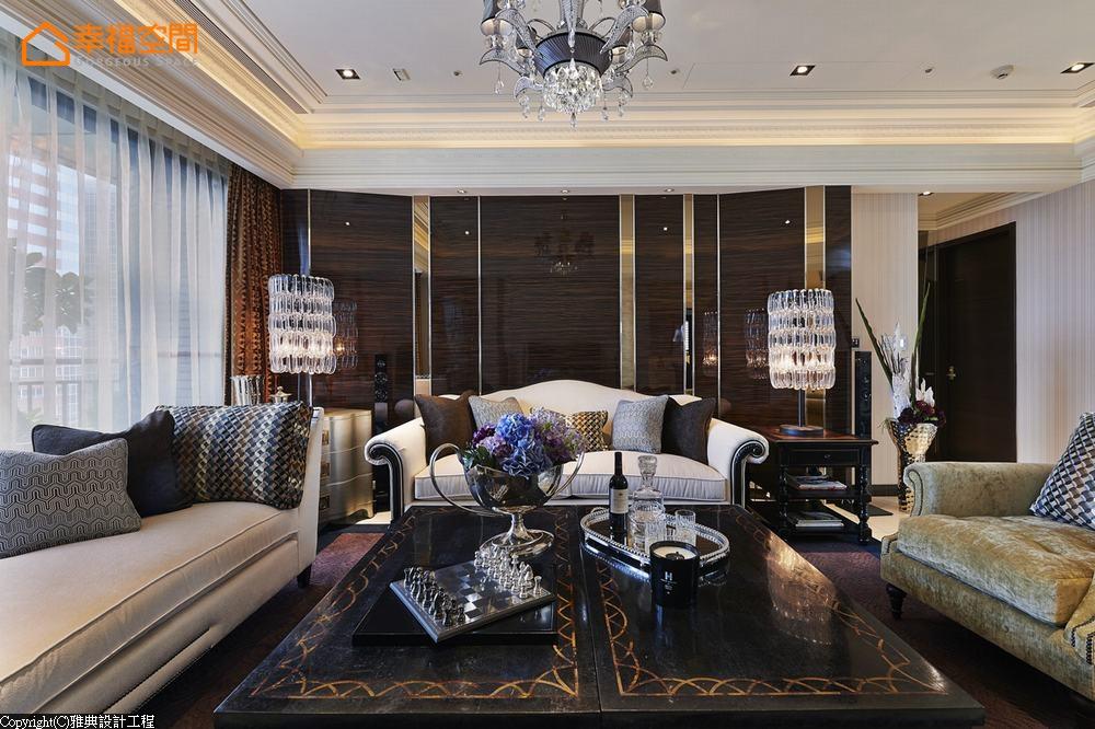 新古典 欧式 白富美 白领 三居 收纳 公主房 客厅图片来自幸福空间在ART DECO 大宅艺术狂想的分享