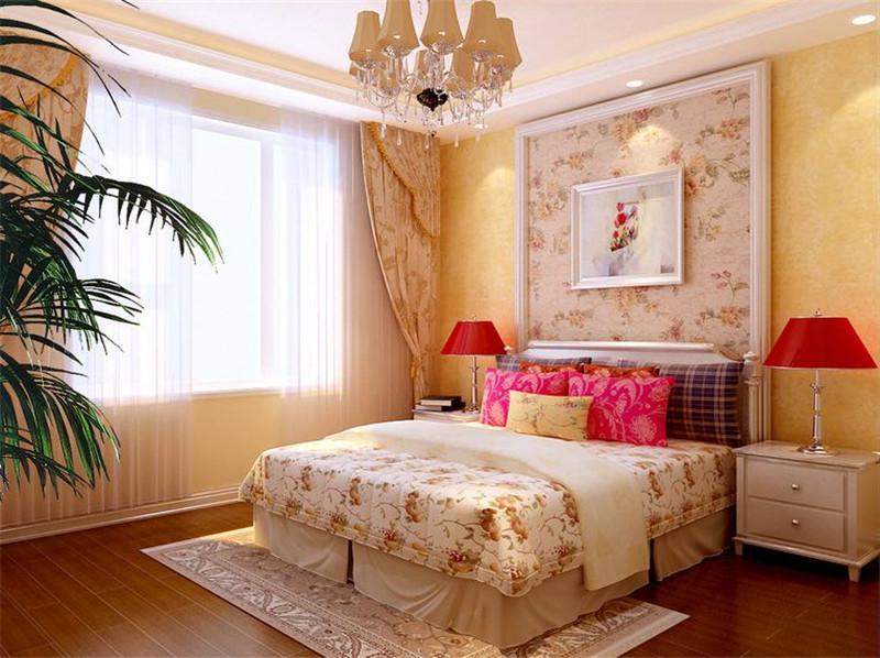 简约 卧室图片来自武汉实创装饰公司晓燕在华星融城128平三居室简约的分享