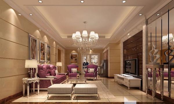 名雕装饰设计——简欧风格客厅