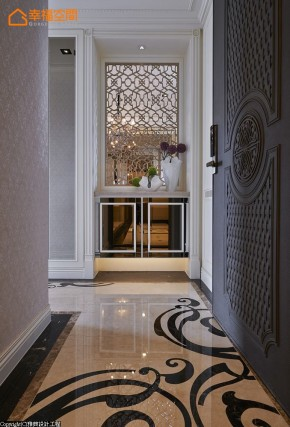 巴洛克 古典 欧式 混搭 白领 白富美 公主房 玄关图片来自幸福空间在165 m²繁复线条挥洒古典之美的分享