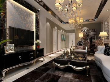 新古典欧式低调奢华的婚房