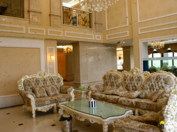 欧式风格——500平奢华别墅装修
