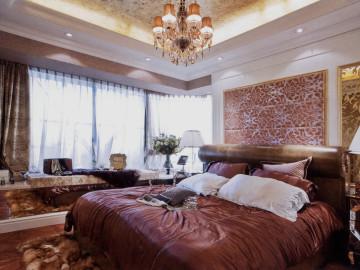 139平3居室美式风格闪亮装饰哦