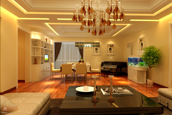现代风格,经典闪亮点黑、白、黄等。营造白领时尚居住生活之家。