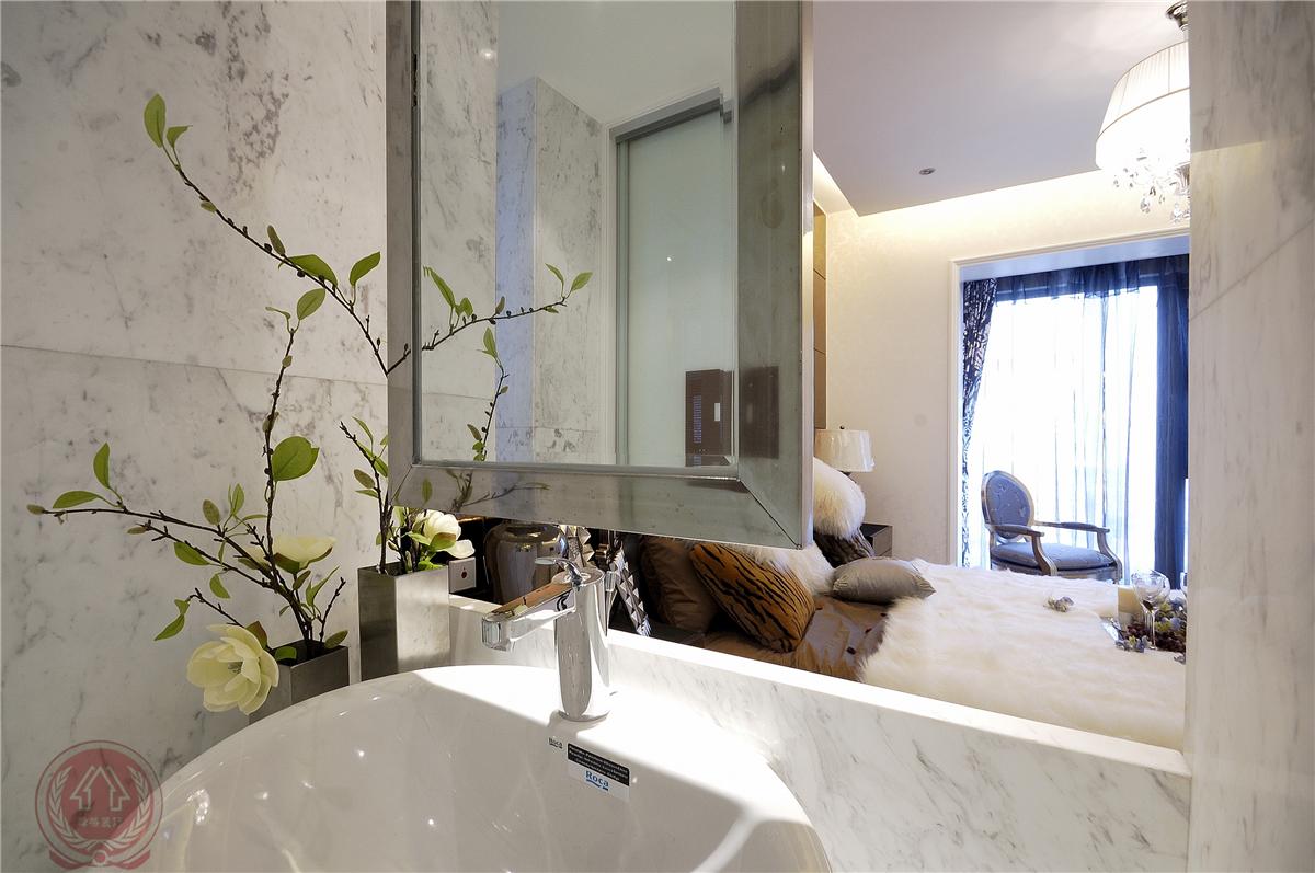 欧式 现代 古典 混搭 三居 卫生间图片来自装修小管家在清芳四溢的分享
