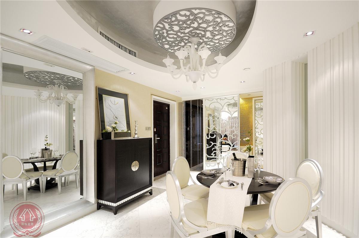 欧式 现代 古典 混搭 三居 餐厅图片来自装修小管家在清芳四溢的分享
