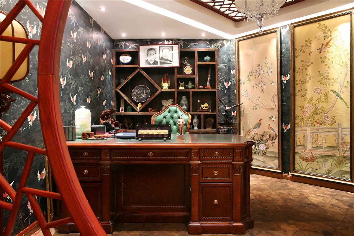 欧式 新古典 混搭 典雅 简约 时尚 三居 书房图片来自装修小管家在典雅时尚欧式古典的分享