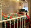 空间的视觉效果重点突出在摆设上,以欧式为主基调,通透的水晶灯搭配简洁时尚的欧式家具,光亮的不锈钢画框装裱抽象的壁画……典雅、简洁、时尚。