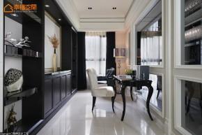 欧式 新古典 混搭 三居 白富美 高帅富 书房图片来自幸福空间在黑与白 历久弥新的美学缩影的分享