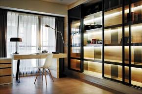 北欧 木质结构 温馨 自然 书房图片来自木子鑫在简欧设计留住自然的家装的分享