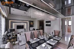 欧式 新古典 混搭 三居 白富美 高帅富 餐厅图片来自幸福空间在黑与白 历久弥新的美学缩影的分享