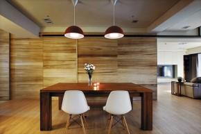 北欧 木质结构 温馨 自然 餐厅图片来自木子鑫在简欧设计留住自然的家装的分享