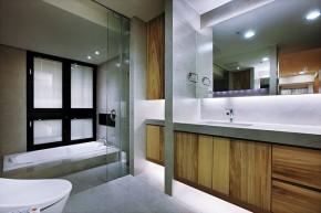 北欧 木质结构 温馨 自然 卫生间图片来自木子鑫在简欧设计留住自然的家装的分享