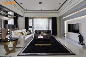 欧式 新古典 混搭 三居 白富美 高帅富 客厅图片来自幸福空间在黑与白 历久弥新的美学缩影的分享