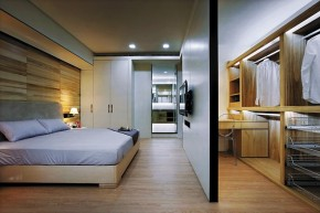北欧 木质结构 温馨 自然 卧室图片来自木子鑫在简欧设计留住自然的家装的分享