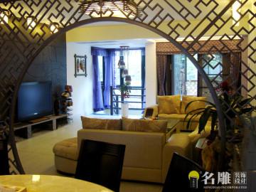 中式田园—270平复式楼阁装修