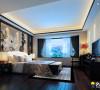 现代中式——280平3居室雅居装修