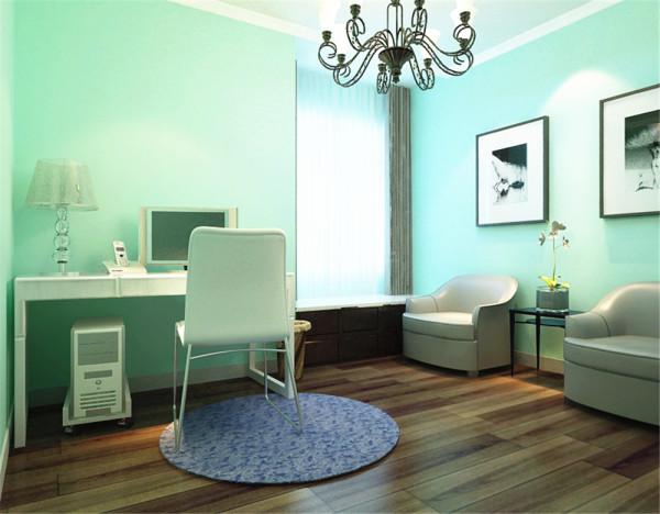 木质衣柜,和实用的飘窗柜子,让这个空间充满浪漫的生活气息。
