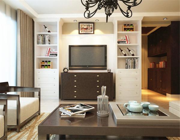 简约风格,整体色调较为平缓,家具以天然的纯木色为主