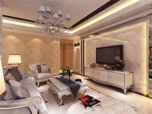 用欧式风格来营造一种舒适、安逸、温馨的居住空间。