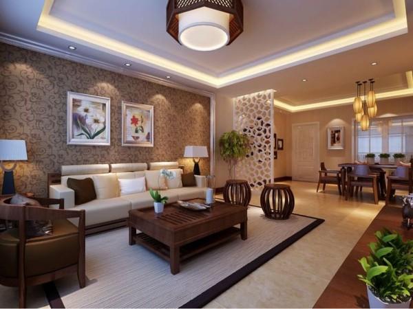 西安城市人家-盛世一品-中式风格装修设计