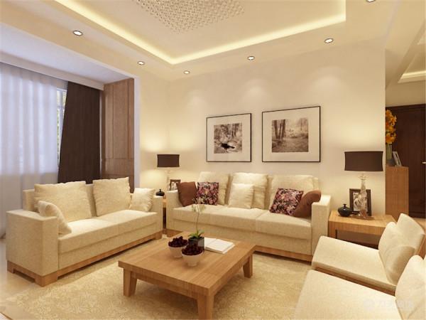 简单的挂画和现代感极强的烤漆玻璃也装饰于空间中。