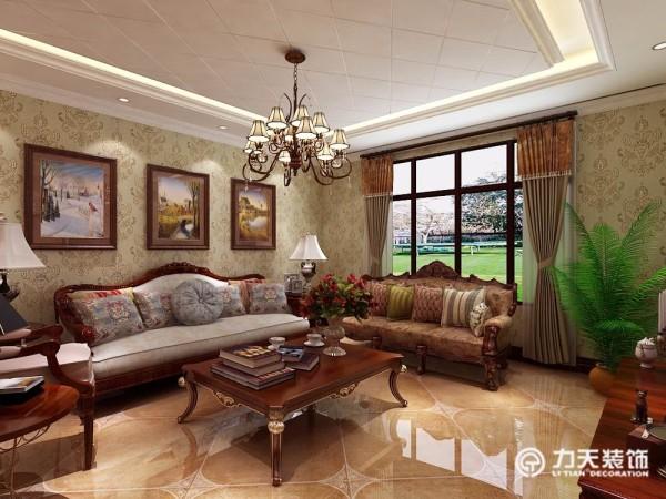 空间较宽敞每个空间都有独立的采光,使得客厅更加明亮