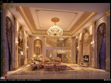 欧式风格—奢华璀璨别墅装修