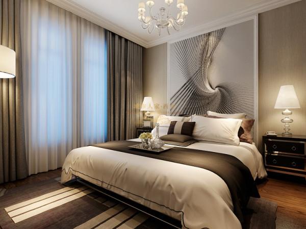 辗转进入儿卧空间,以简单、干净、舒适的基调搭配落地壁画,时尚简约的壁纸与中式温暖的橡木地板相结合,反映出优雅的生活模式与品位,符合学院派大学生的气质。