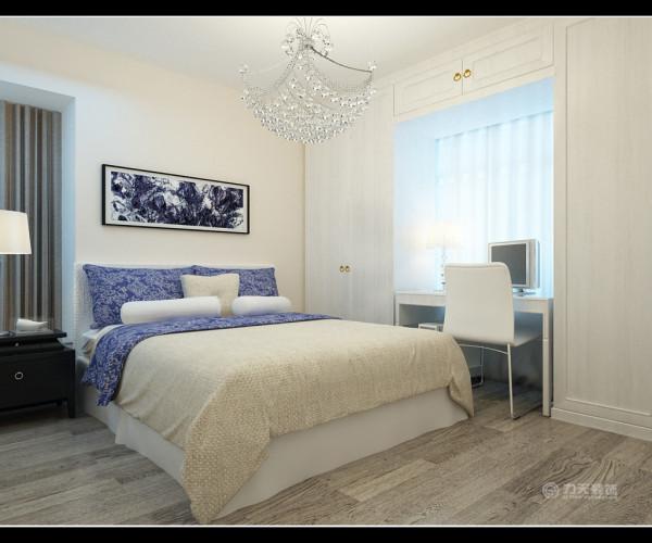 家具以简单的大线条为主,但是保留了细节的精致和配色的考