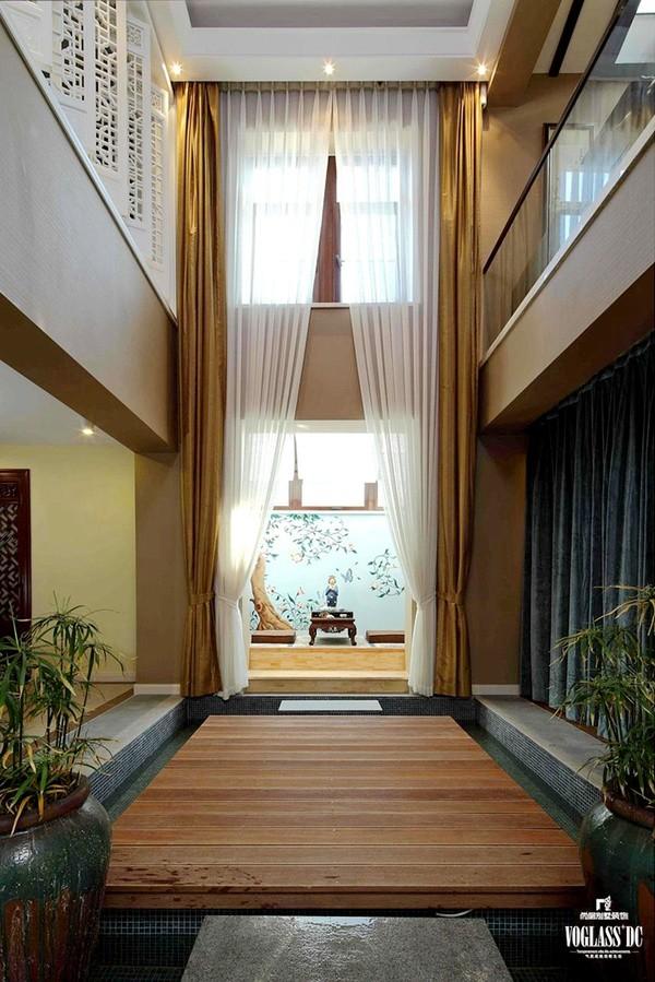 尚层别墅装饰案例赏析:远洋傲北中式古典设计案例