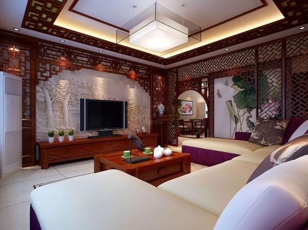 西安城市人家-航天佳苑-中式古典装修设计