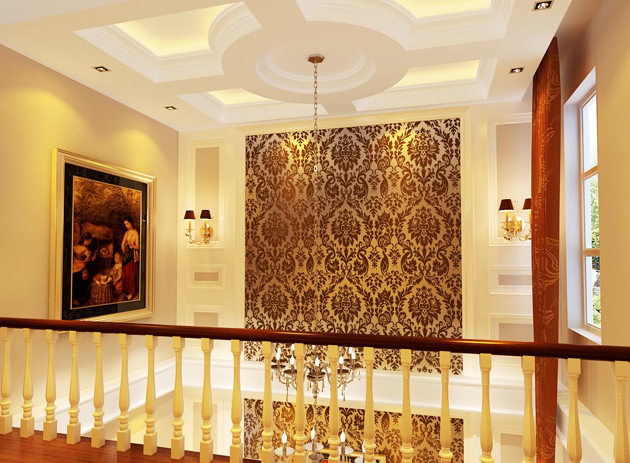 混搭 别墅 白领 80后 小资 实创装饰 成都实创 楼梯图片来自实创装饰成都分公司在巧妙唯美的别墅装修的分享