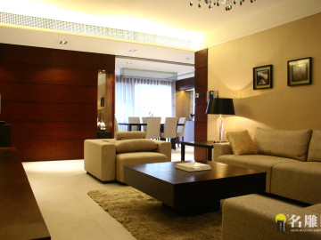 现代风格—115平二居室时尚家居