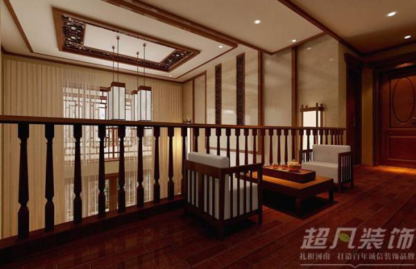 鹿港小镇208平米新中式风格别墅装修效果图案例