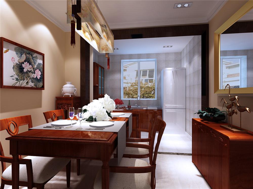 三居 白领 收纳 餐厅图片来自实创装饰完美家装在实用与内涵共存打造景合园新中式的分享