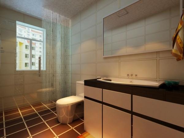 水岸鑫城125平米现代风格装修效果图案例