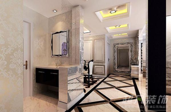 龙泊圣地220平米欧式奢华风格别墅装修效果图案例