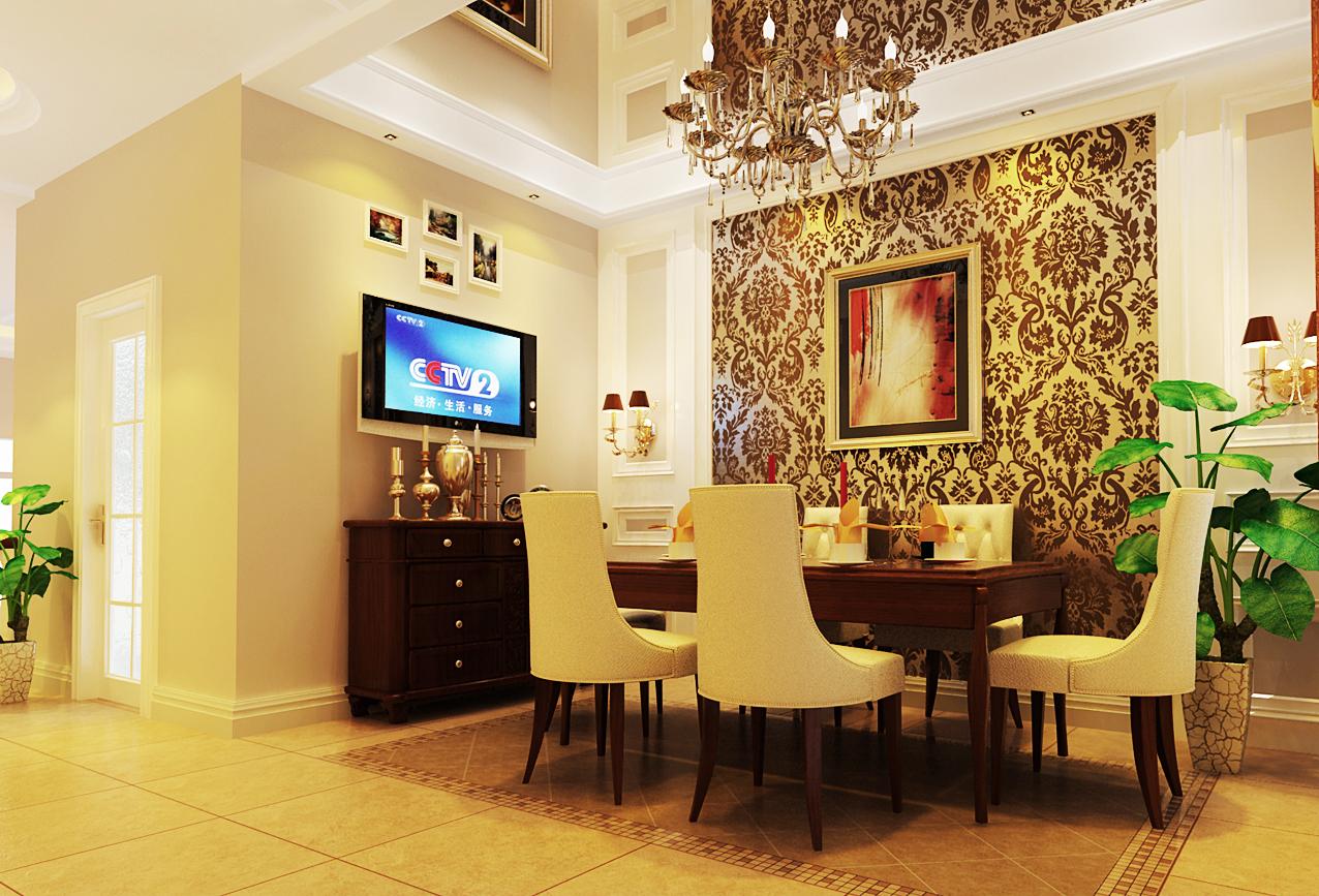 混搭 别墅 白领 80后 小资 实创装饰 成都实创 餐厅图片来自实创装饰成都分公司在巧妙唯美的别墅装修的分享