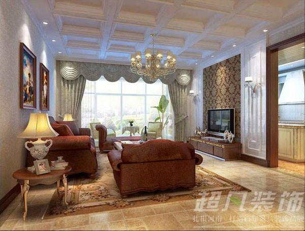 清华忆江南395平米混搭风格别墅装修效果图案例
