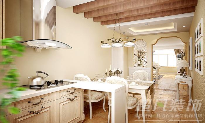 复式 跃层 超凡装饰 别墅 混搭 郑州 厨房图片来自沪上名家装饰在思念果岭160平复式地中海风格的分享