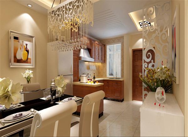 经结构的改造,开放的厨房与独特的吊顶,整体空间的搭配,唯美又现代,餐厅的装饰宁静又舒适,吧台的设计让生活别有情趣。